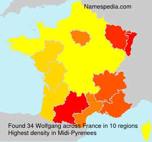 Surname Wolfgang in France
