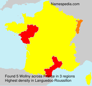 Surname Wollny in France