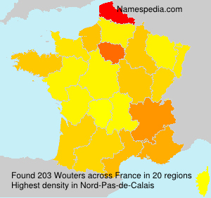 Surname Wouters in France