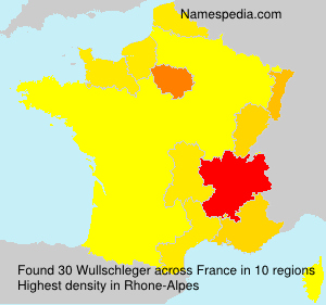 Surname Wullschleger in France