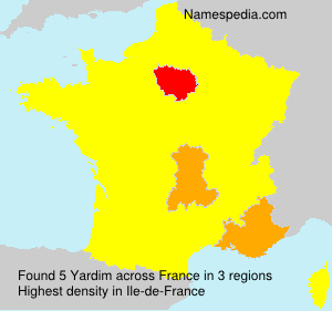 Surname Yardim in France