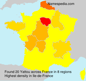 Surname Yattou in France
