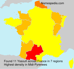 Surname Yssoufi in France