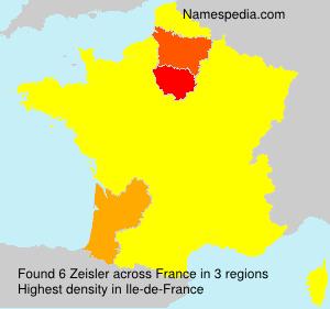 Surname Zeisler in France