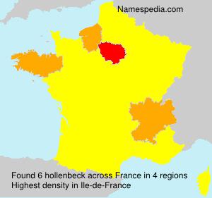 Familiennamen hollenbeck - France