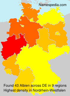 Surname Albien in Germany