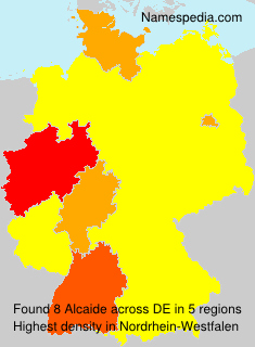 Surname Alcaide in Germany
