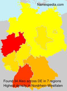Familiennamen Aleo - Germany