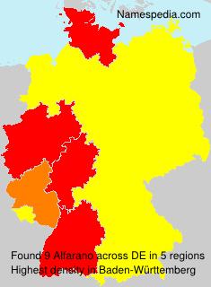 Alfarano - Germany