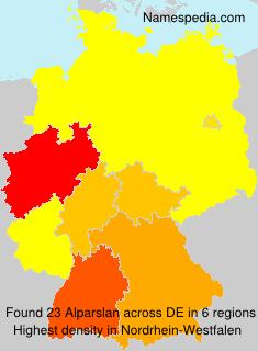 Surname Alparslan in Germany