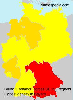Familiennamen Amadori - Germany