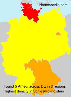 Surname Amedi in Germany
