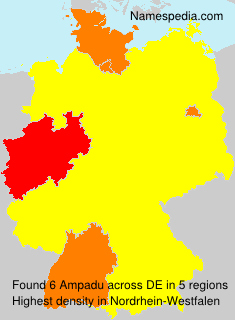 Familiennamen Ampadu - Germany