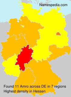 Surname Amro in Germany
