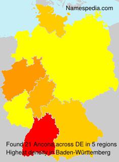 Familiennamen Ancona - Germany