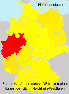 Surname Annas in Germany