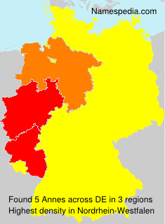 Surname Annes in Germany