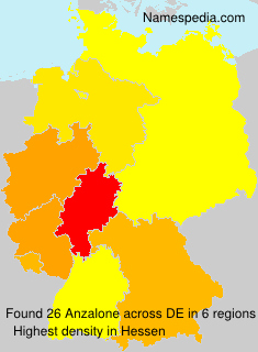 Surname Anzalone in Germany