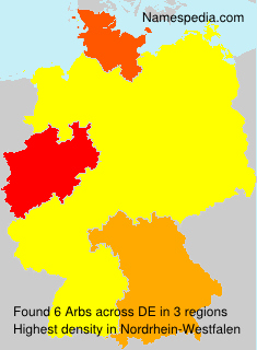 Surname Arbs in Germany