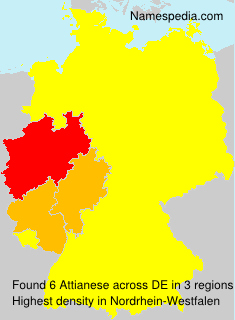 Surname Attianese in Germany