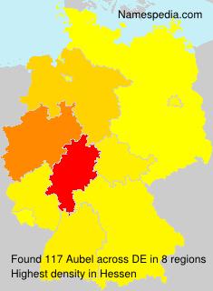 Familiennamen Aubel - Germany