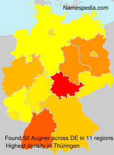 Surname Augner in Germany
