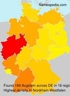Familiennamen Augstein - Germany