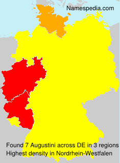 Surname Augustini in Germany