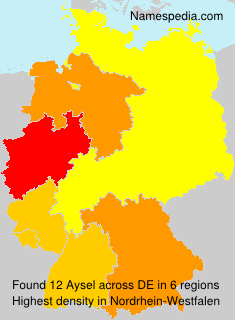 Surname Aysel in Germany