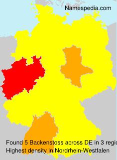 Backenstoss - Germany