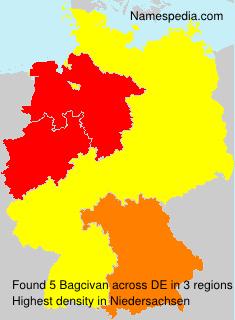 Familiennamen Bagcivan - Germany