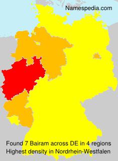 Surname Bairam in Germany