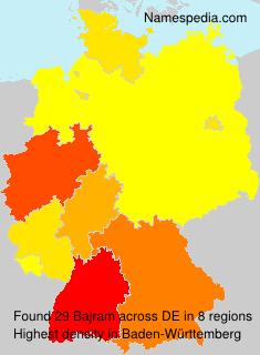 Surname Bajram in Germany