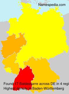 Surname Baldassarre in Germany