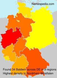 Surname Baldwin in Germany