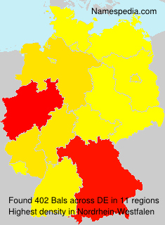 Surname Bals in Germany