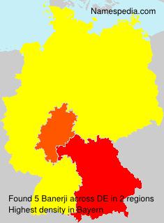 Surname Banerji in Germany