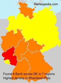 Familiennamen Banfi - Germany