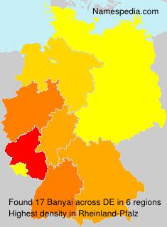 Surname Banyai in Germany