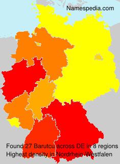 Familiennamen Barutcu - Germany