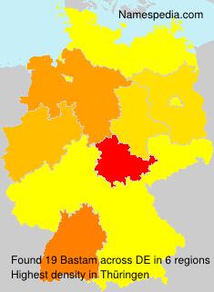 Surname Bastam in Germany
