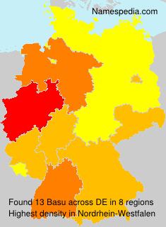 Surname Basu in Germany