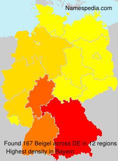 Surname Beigel in Germany