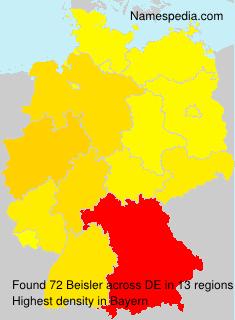 Familiennamen Beisler - Germany