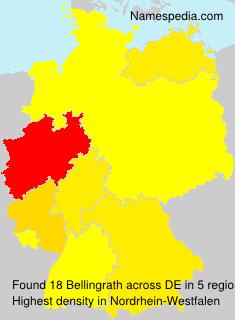 Familiennamen Bellingrath - Germany