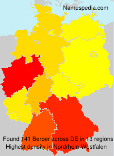 Familiennamen Berber - Germany