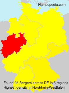 Familiennamen Bergers - Germany
