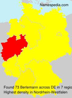 Familiennamen Berlemann - Germany