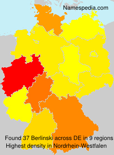Surname Berlinski in Germany