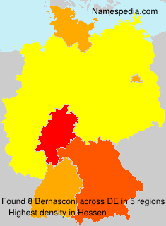 Familiennamen Bernasconi - Germany